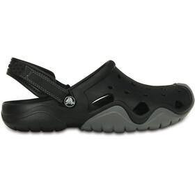 Crocs Swiftwater Clogs Men Black/Charcoal